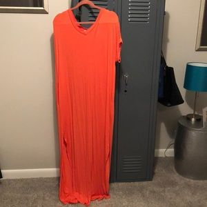 Maxi dress or cover up